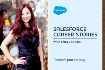 From training in hospitals to nailing it in sales: A Salesforce Career Story