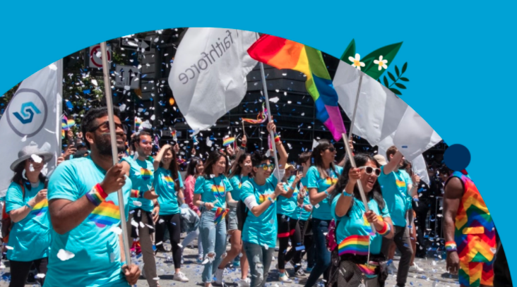 Read more about the article Out at Work: Salesforce Employees Celebrate Pride Month